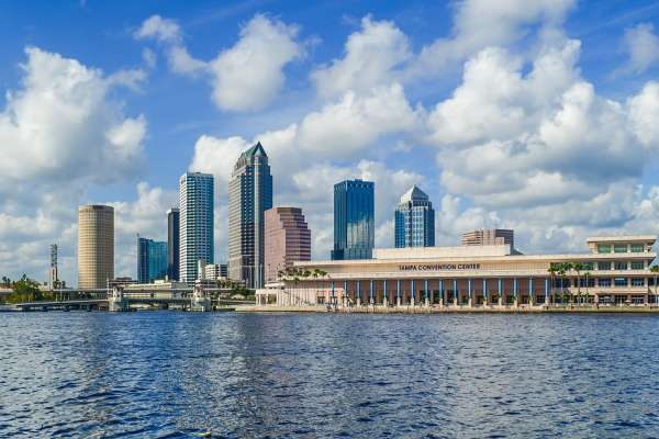 Skyline of Tampa, FL